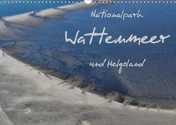 Naturpark Wattenmeer und Helgoland (Wandkalender 2019 DIN A3 quer) von N.,  N.