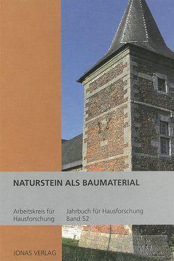 Naturstein als Baumaterial von de Vries,  Dirk J., Furrer,  Benno, Goer,  Michael, Klein,  Ulrich, Stiewe,  Heinrich, Weidlich,  Ariane