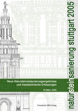 Natursteinsanierung Stuttgart 2005. von Grassegger,  Gabriele, Patitz,  Gabriele, Wölbert,  Otto