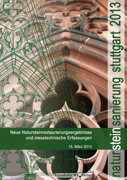 Natursteinsanierung Stuttgart 2013. von Grassegger,  Gabriele, Patitz,  Gabriele, Wölbert,  Otto
