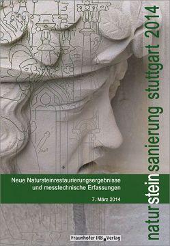 Natursteinsanierung Stuttgart 2014. von Grassegger,  Gabriele, Patitz,  Gabriele, Wölbert,  Otto
