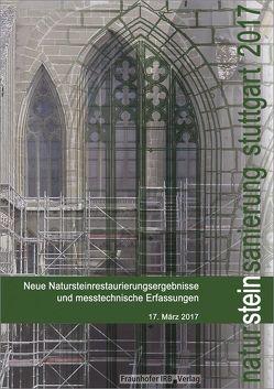 Natursteinsanierung Stuttgart 2017. von Grassegger,  Gabriele, Patitz,  Gabriele, Wölbert,  Otto