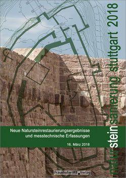 Natursteinsanierung Stuttgart 2018. von Grassegger,  Gabriele, Patitz,  Gabriele, Wölbert,  Otto