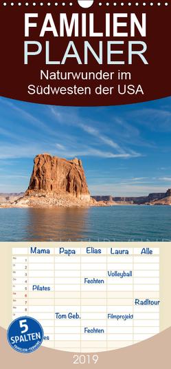 Naturwunder im Südwesten der USA – Familienplaner hoch (Wandkalender 2019 , 21 cm x 45 cm, hoch) von Peyer,  Stephan