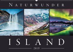 Naturwunder Island (Wandkalender 2019 DIN A2 quer) von Kilmer,  Sascha