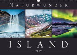 Naturwunder Island (Wandkalender 2019 DIN A3 quer) von Kilmer,  Sascha