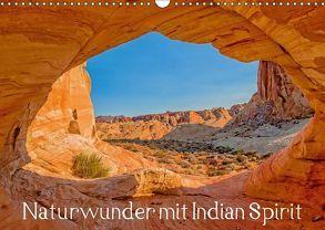 Naturwunder mit Indian Spirit (Wandkalender 2018 DIN A3 quer) von Wegmann,  Rudolf