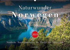 Naturwunder Norwegen (Wandkalender 2019 DIN A2 quer) von Kilmer,  Sascha
