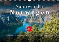 Naturwunder Norwegen (Wandkalender 2019 DIN A3 quer) von Kilmer,  Sascha