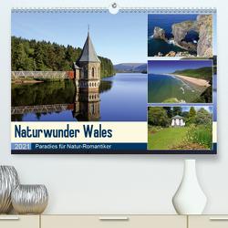 Naturwunder Wales (Premium, hochwertiger DIN A2 Wandkalender 2021, Kunstdruck in Hochglanz) von Herzog,  Michael