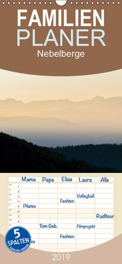 Nebelberge – Zauberhafte Bergwelten – Familienplaner hoch (Wandkalender 2019 , 21 cm x 45 cm, hoch) von Bartek,  Alexander