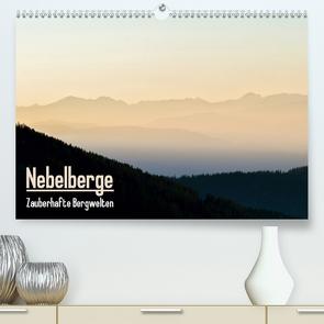Nebelberge – Zauberhafte Bergwelten (Premium, hochwertiger DIN A2 Wandkalender 2021, Kunstdruck in Hochglanz) von Bartek,  Alexander