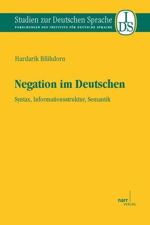 Negation im Deutschen von Blühdorn,  Hardarik