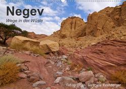 NEGEV Wege in der Wüste (Wandkalender 2021 DIN A2 quer) von Rechberger,  Gabriele