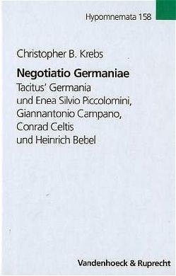 Negotiatio Germaniae von Krebs,  Christopher B.