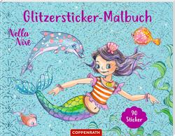 Nella Nixe – Glitzersticker-Malbuch von Monika Finsterbusch