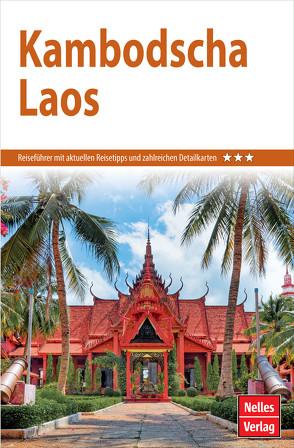 Nelles Guide Reiseführer Kambodscha – Laos von Bergmann,  Jürgen, Nelles,  Günter, Schwarz,  Berthold, Wulf,  Annaliese