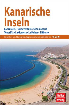 Nelles Guide Reiseführer Kanarische Inseln von Gruschwitz,  Bernd F, Lipps,  Susanne, Nelles,  Günter