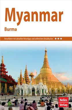 Nelles Guide Reiseführer Myanmar von Bruns,  Dr. Axel, Köllner,  Helmut, Nelles,  Günter