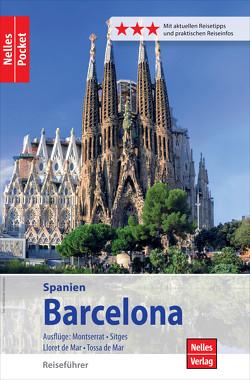 Nelles Pocket Reiseführer Barcelona von Bergmann,  Jürgen, Golder,  Marion, Homburg,  Elke, Nelles,  Günter
