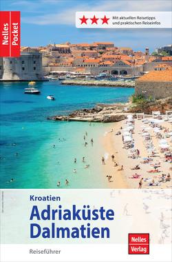 Nelles Pocket Reiseführer Kroatien – Adriaküste, Dalmatien von Dannhauser,  Ingeborg, Nelles,  Günter, Sabo,  Alexander