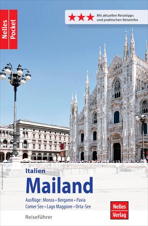 Nelles Pocket Reiseführer Mailand von Bergmann,  Jürgen, Lammers,  Ingola, Nelles,  Günter