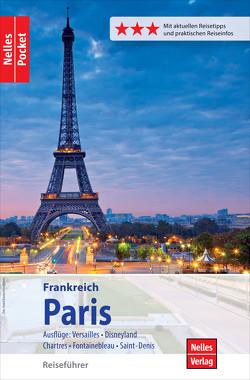Nelles Pocket Reiseführer Paris von Eckerlin,  Peter, Nelles,  Günter, Pastré,  Elke, Zipprick,  Jörg