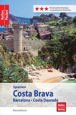 Nelles Pocket Reiseführer Spanien – Costa Brava, Barcelona, Costa Daurada von Golder,  Marion, Homburg,  Elke, Nelles,  Günter