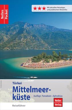 Nelles Pocket Reiseführer Türkei – Mittelmeerküste von Bergmann,  Jürgen, Ferner,  Manfred, Nelles,  Günter