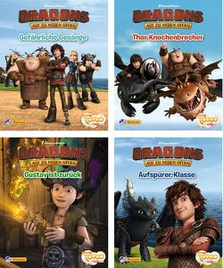 Nelson Mini-Bücher: 4er Dreamworks Dragons 5-8