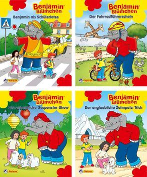 Nelson Mini-Bücher: Benjamin Blümchen 25-28 von Kiddinx Media GmbH