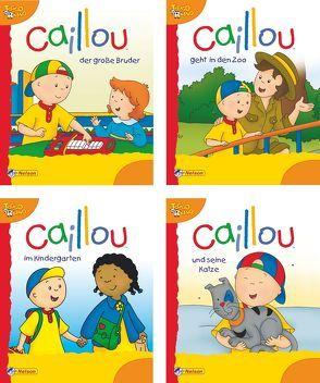 Nelson Mini-Bücher: Caillou 9-12
