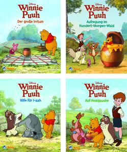 Nelson Mini-Bücher: Disney Winnie Puuh 1-4 von Disney Enterprises,  Inc.,  Inc.