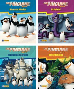 Nelson Mini-Bücher: Dreamworks Die Pinguine aus Madagascar 1-4 von DreamWorks Animation UK Limited