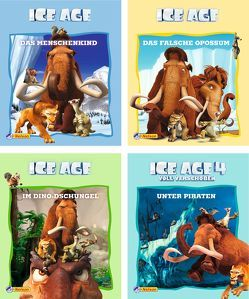 Nelson Mini-Bücher: Ice Age 1-4 von Fox Entertainment Group,  Inc.,  Inc.
