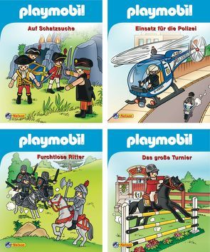 Nelson Mini-Bücher: Playmobil 1-4