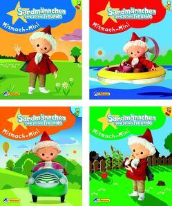 Nelson Mini-Bücher: Sandmännchen Mitmach-Minis 1-4