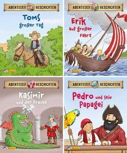 Nelson Mini-Bücher: 4er Abenteuergeschichten 1-4