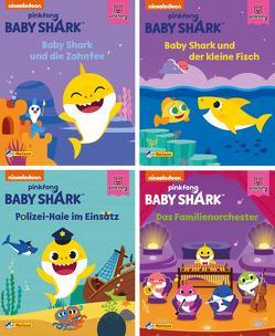 Nelson Mini-Bücher: 4er Baby Shark 1-4