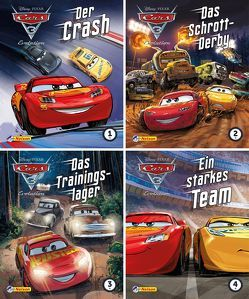 Nelson Mini-Bücher: 4er Disney Cars 5-8