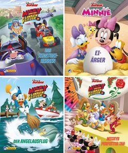 Nelson Mini-Bücher: 4er Disney Micky und die Flinken Flitzer 1-4