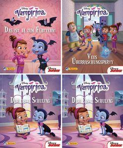 Nelson Mini-Bücher: 4er Disney Vampirina 1-4