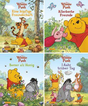 Nelson Mini-Bücher: 4er Disney Winnie Puuh 5-8 von Disney Enterprises,  Inc.