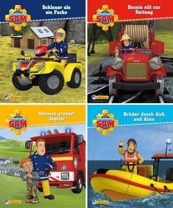 Nelson Mini-Bücher: 4er Feuerwehrmann Sam 13-16