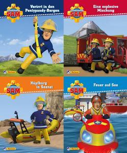 Nelson Mini-Bücher: 4er Feuerwehrmann Sam 17-20
