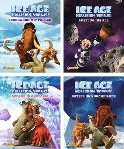 """Nelson Mini-Bücher: 4er Ice Age """"Kollision voraus!"""" 5-8"""