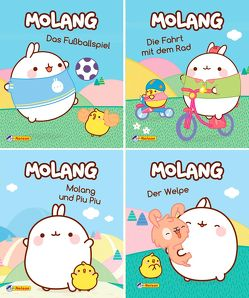 Nelson Mini-Bücher: 4er Molang 1-4