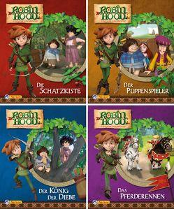 Nelson Mini-Bücher: 4er Robin Hood 1-4