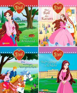 Nelson Mini-Bücher: 4er Sissi 1-4