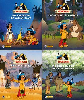 Nelson Mini-Bücher: 4er Yakari 9-12